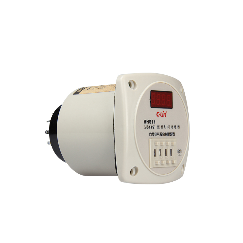 Quality Goods JS11S Number Show Time Relay HHS11 Four Digit 1S-9999S AC220V jss20 48ams number show time relay 0 01s 9990h time base adjustable ac220v goods in stock