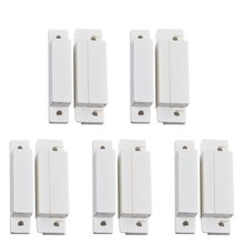 5 Pairs MC-31 Wired Door Window Sensor Magnetic Switch For Home Alarm System Detector home security alarm wired window magnetic door contact sensor detector switch for gsm reed switch door lock door contacts switch