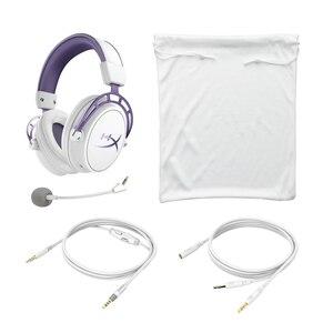 Image 5 - קינגסטון HyperX ענן אלפא סגול מהדורה מוגבלת E ספורט אוזניות עם מיקרופון Headset משחקים עבור מחשב PS4 Xbox נייד