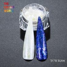TCWB208 Chameleon Flakes Magic Effect Flakes large size chameleon  for nail Art  nail polish and  other DIY decoration