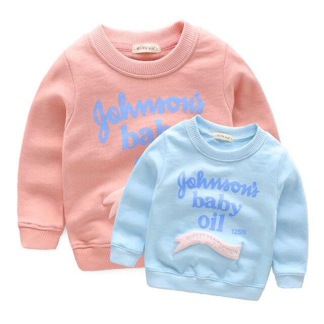 Ребенок мужского пола пуловеры толстовка ребенок родитель-ребенок петлевым ворсом топ 2017 детская clothing весна свежие детские верхняя одежда
