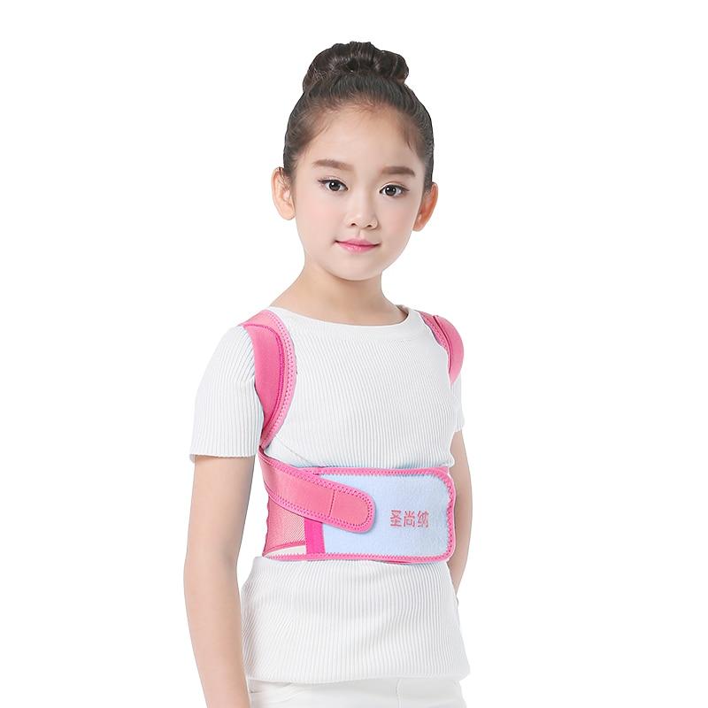 Quality Children Humpback Correction supports Therapy Belt for Shoulder Correct Posture Back Support for Unisex Students Kids back posture correction belt for children beige