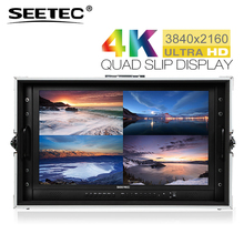SEETEC 4K238 9HSD CO 23 8 4K 3840x2160 UHD Broadcast Monitor for CCTV Monitoring Making Movies