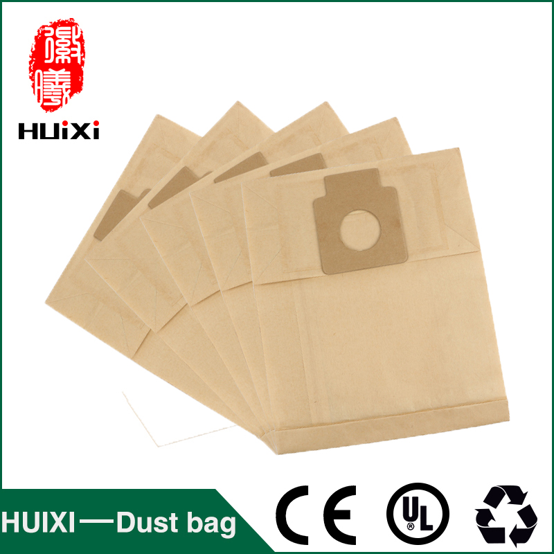 Single-use paper dust bags and filter change bags with high efficiency of vacuum cleaner spare parts for MC-2700 MC-2760 etc