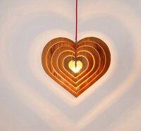 Несколько сердце дерева кулон светильники Античная Американский Винтаж Ретро лампа Дизайн Кухня для ресторана/Гостиная pll 713