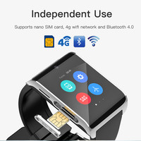 DM2018 MTK6737 1.1GHz Quad Core 1GB RAM 16GB ROM 1.54 Inch Screen 900mAh Android 6.0 Bluetooth 4.0 GPS 4G LTE Smart Watch Phone