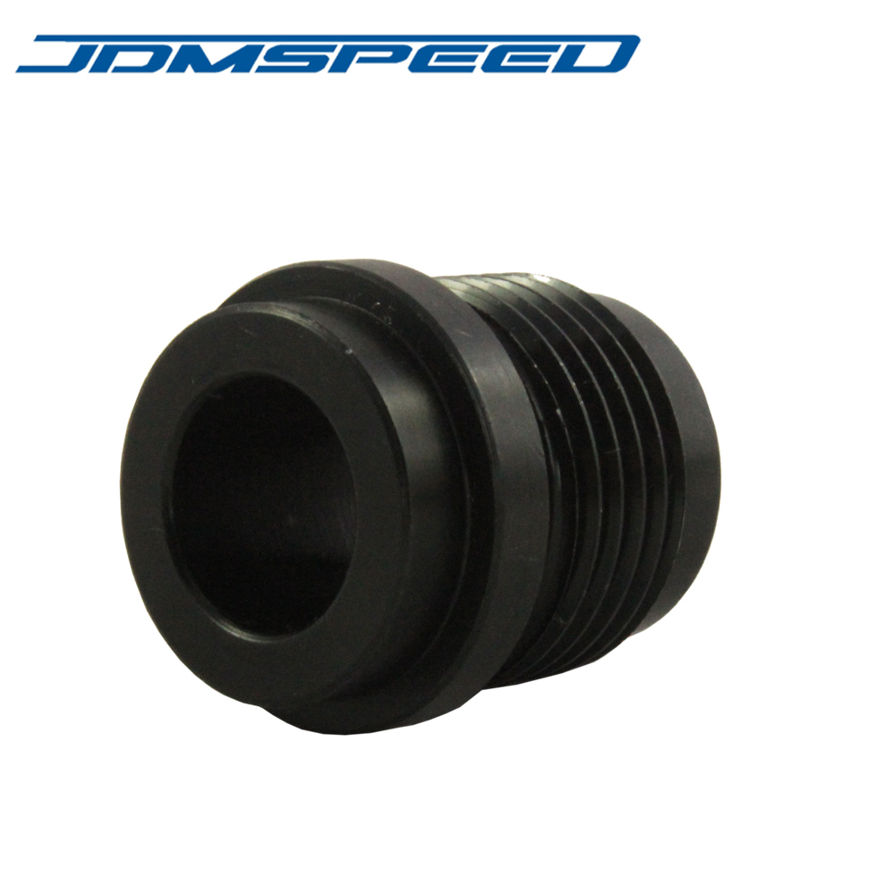 New Black JDMSPEED AN10 AN 10 # 10 Male Billet Adapter Aluminum Weld On Bung Fitting