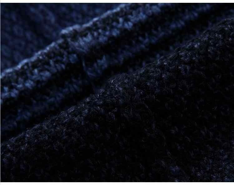 SAMHI BUGLE 2018 новый теплый кардиган-пальто свитер модный цветной сращивающийся свитер мужской трикотаж Slim Fit высокое качество Pull Homme