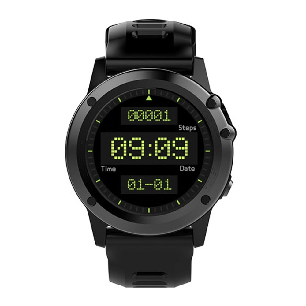 H1 1.39 Inch 400*400 OLED Round Screen Display Smart Watch IP68 Waterproof Support Pedometer / Compass / Sleep Monitor etc 1 3 inch 128x64 oled display module blue 7 pins spi interface diy oled screen diplay compatible for arduino