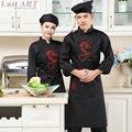 Food Service новый китайский стиль элегантный куртка повара отеля кухня бар шеф-повар равномерное ресторан моды шеф-повар одежда AA012