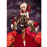 23cm Anime Fate stay/night Action Figure Red dress Myth Saber PVC Funko pop Model collection figurine toys dolls gifts