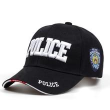 2018 New POLICE Mens Tactical Cap SWAT Baseball Cap Men Gorras Para Hombre Women Snapback Bone Masculino Army Cap Letter