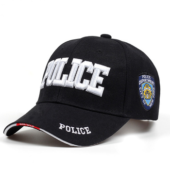 2018 nueva gorra táctica de policía Para hombres gorra de béisbol SWAT gorra  de béisbol Para Hombre mujer Snapback hueso Masculino gorra militar letra c7a98ad2235