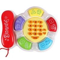 حار بيع لعب الأطفال التعليمية لعبة طفل الموسيقى لعبة الهاتف قبل التدريس طفل طفل هدية عيد TY24