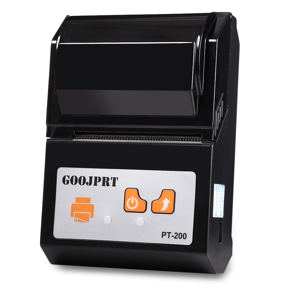 Brazil Shipping 4 PCS PT 200 Bluetooth Thermal Printer 58mm Portable Wireless for Android iOS - 5