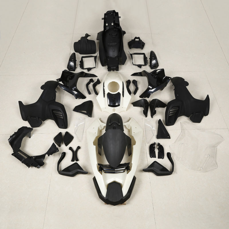 Motorcycle Unpainted Injection ABS Fairing Bodywork Kit For BMW K51 R1200GS Adventure 12-18 unpainted motorcycle abs injection bodywork fairing cowl kit for honda vfr 1200 vfr1200 2010 2011 2012 2013