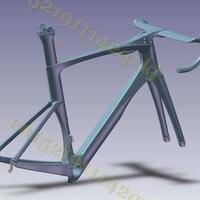 T1000 Full Carbon Fiber Road Bike Frame Road Bicycle Carbon Frame Bike Frame Fork Seat Post