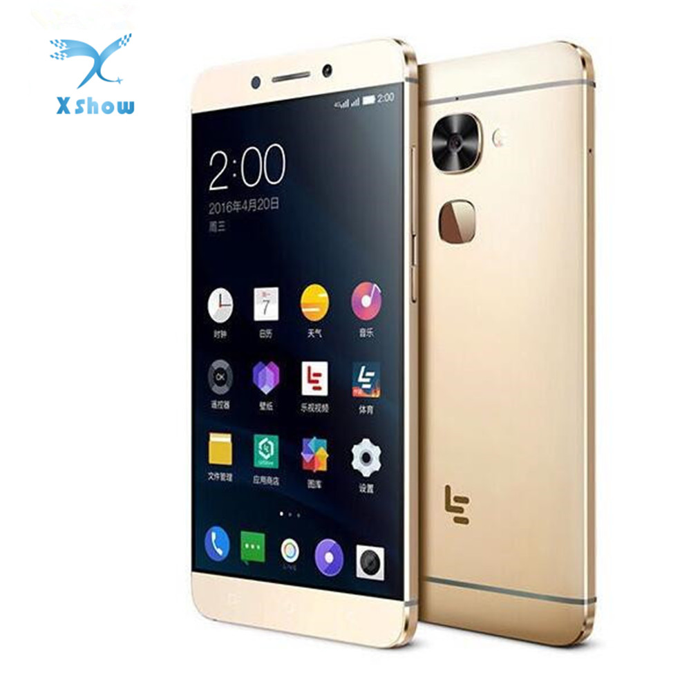 LeEco LeTV Le X526 X520 5.5 Inch Octa Core 3000mAh 3GB RAM 64GB ROM 16.0MP Android 6.0 Snapdragon 652 4G LTE Smart Phone