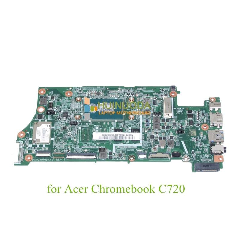 NOKOTION DA0ZHNMBAF0 REV F NBSHE11007 for acer Chromebook C720 font b laptop b font motherboard 2957U