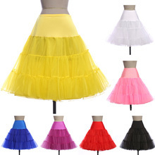 Short wedding petticoat bridal underskirt women crinoline skirt tutu plus size.jpg 250x250