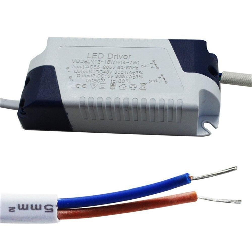 Потолочный светодиодный светильник, 3 Вт/6 Вт/9 Вт/12 Вт/15 Вт/18 Вт, квадратная/круглая панель, лампа AC110V 220 В, теплый/холодный белый, освещение для...