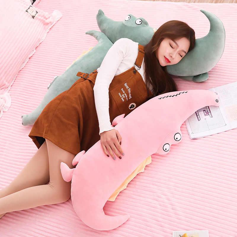 2019 Novo Crocodilo Brinquedos De Pelúcia Animais de Pelúcia Macia Muito confortável Travesseiro Almofada de Pelúcia Boneca de Presente Decoração de Casa para As Crianças