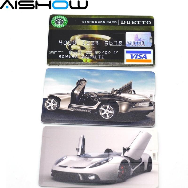 HOT! Wholesale plastic Custom LOGO Bank card pendrive Credit Card USB Flash drive pen drive memory disk 128M-32GB