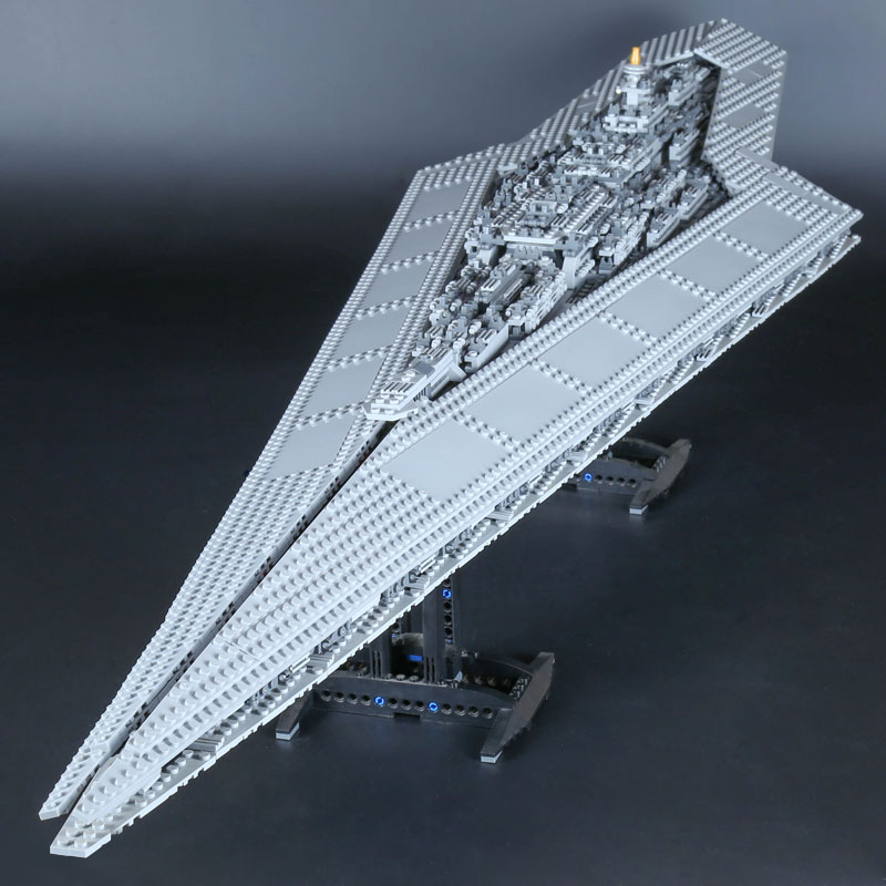 DHL 05027 05028 Start Wars Super Star Destroyer Imperial Star Ship Building Block Brick Compatible 10030 10221 2