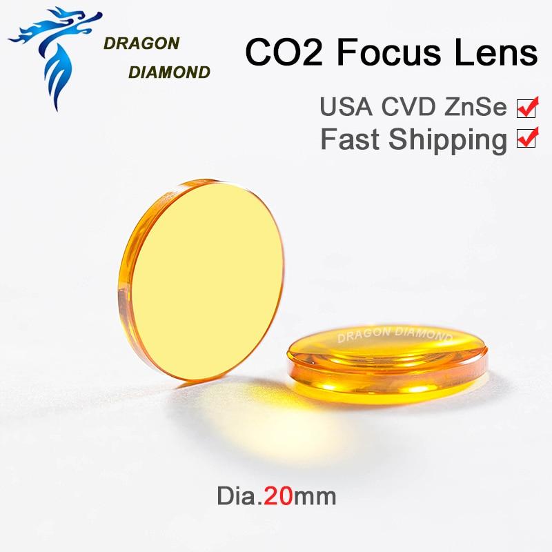 CO2 laser laser USA CVD fookuslääts ZnSe Dia 20mm FL 38,1 mm 50,8 - Mõõtevahendid - Foto 4