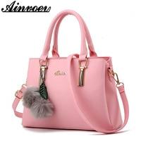 Ainvoev Luxury Handbags Women Bags Designer Women Messenger Bags PU Leather Shoulder Bags Tote High Quality