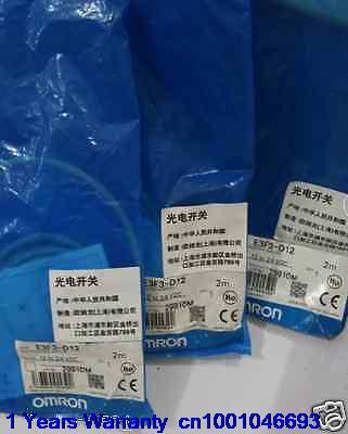 DHL/EUB 5pcs Original for OMRON NEW E3F3-D12 SHA21 (E3F3D12) PhotoElectric Switch   15-18DHL/EUB 5pcs Original for OMRON NEW E3F3-D12 SHA21 (E3F3D12) PhotoElectric Switch   15-18