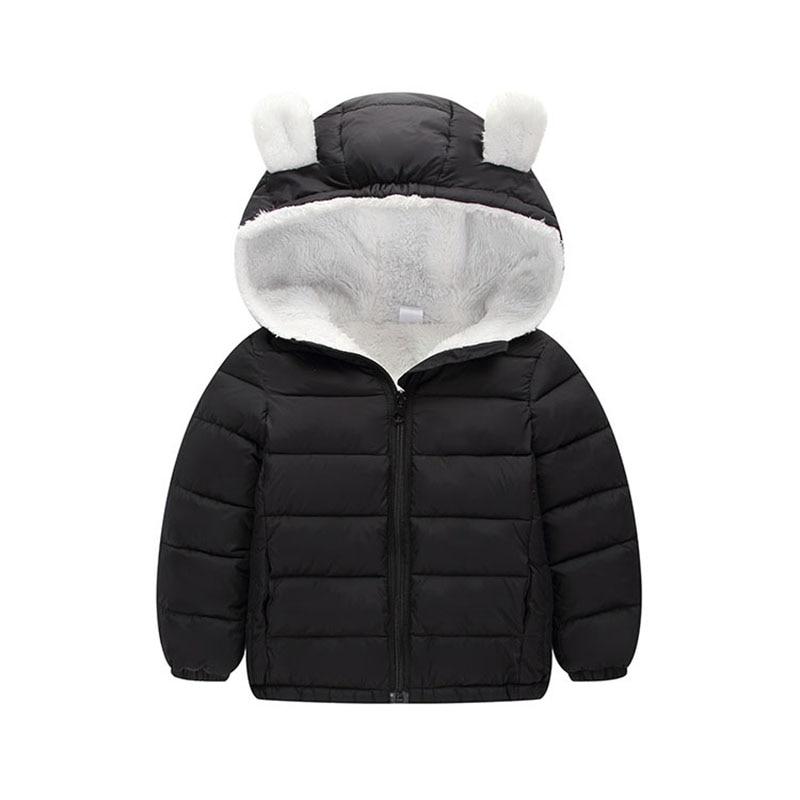 6e18e2fcf Kids Jackets Cute Boys Winter Warm Hooded Coat 2018 Autumn Baby ...