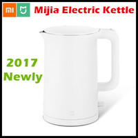 2017 New Xiaomi Mijia Electric Kettle 1 5L Household 304 Stainless Steel Insulated Water Kettle Fast