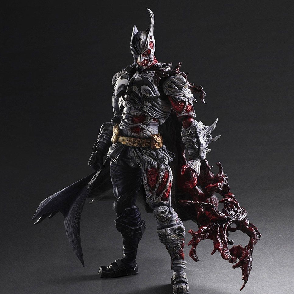 Play Arts Kai Batman Figures Rogues Gallery Double Two Face PVC Action Figure Model Toys Gifts high quality the avengers cute nendoroid batman 20cm pvc action figure model toys gifts