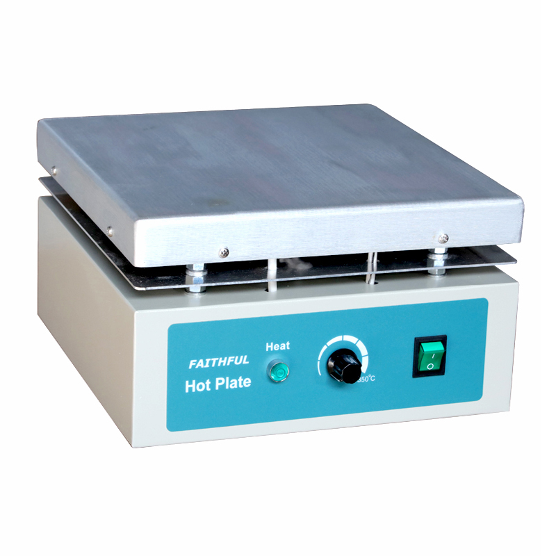 Plaque chauffante de laboratoire SH-5A, plaque chauffante en aluminium 30x30 cm