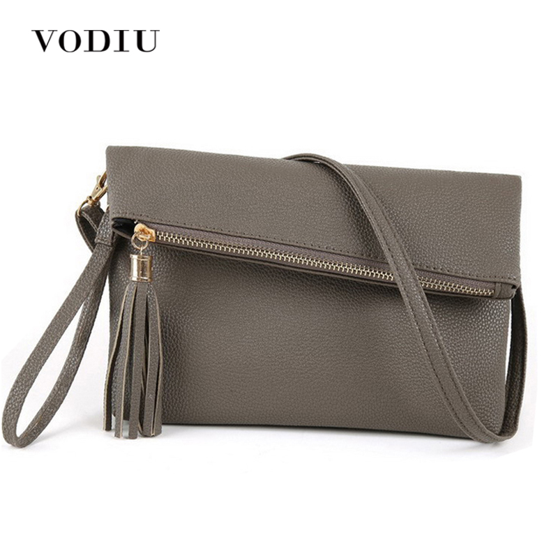 Women Handbags Leather Bags Tote Over Shoulder Sling Messenger Crossbody Zipper Tassel Small Flap Clutch Fashion Female Handbags