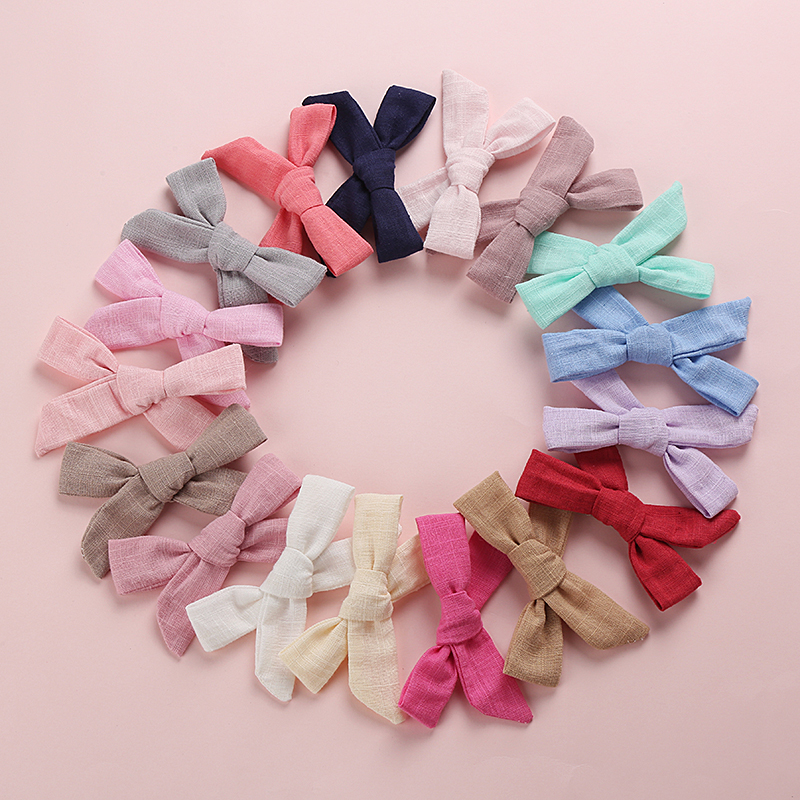 Bulk 24pc lot 2019 New Nylon Hair Bands Baby Girls PomPom Headbands Top Knot Elastic Turban