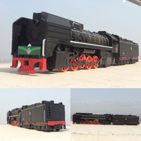 High Simulation Train Model 1 87 Scale Alloy Pull Back Coal Steam Train Metal Toy Cars