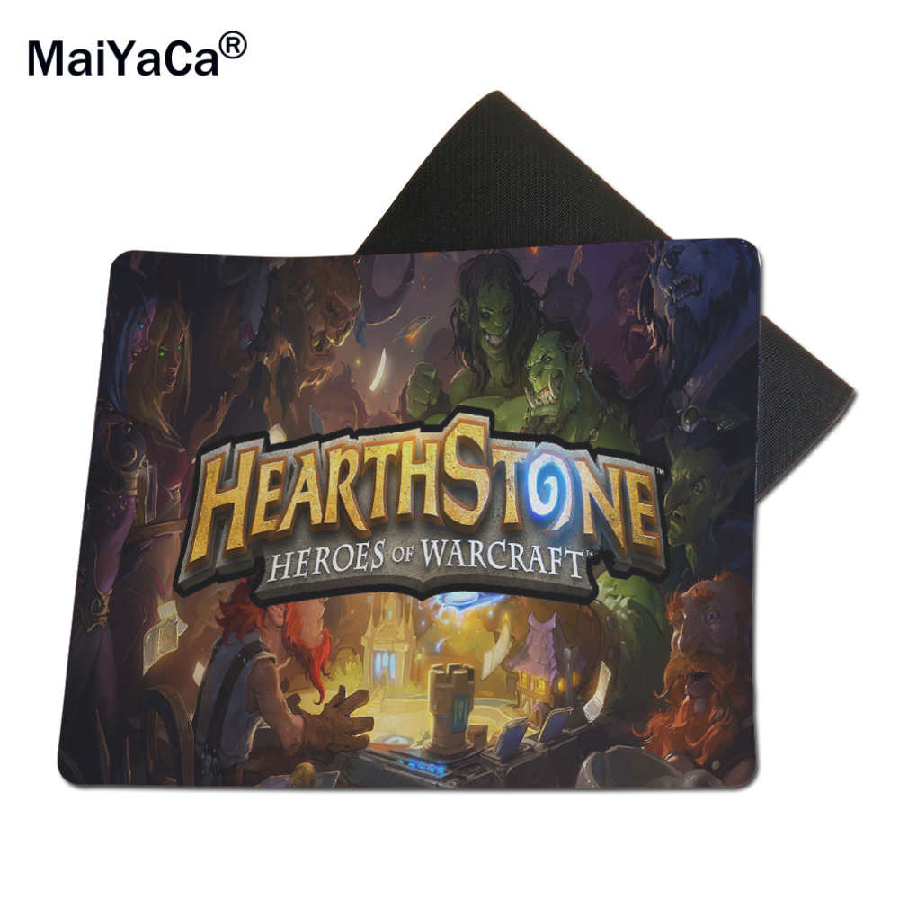 MaiYaCa Heartstone Entert Wholesale Mousepad Gaming Mouse Mats to Mouse Gamer 18*22cm and 25*29cm