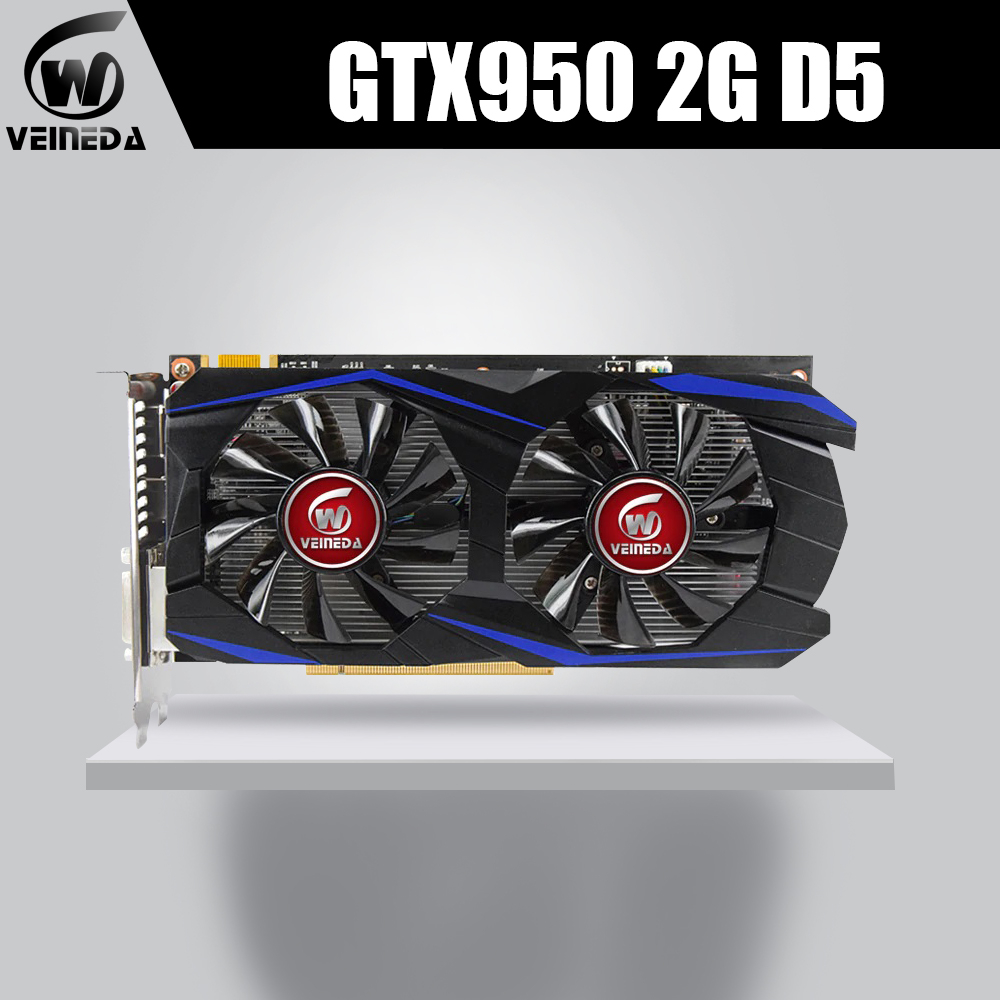 VEINEDA GTX950 Card 2GB 128Bit GDDR5 GTX950 Graphics card Geforce Hdmi DviVEINEDA GTX950 Card 2GB 128Bit GDDR5 GTX950 Graphics card Geforce Hdmi Dvi