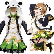 Kunikida Hanamaru Cosplay Costume Love Live Hanamaru Kunikida Cheongsam Cosplay Costumes Dress Custom Made