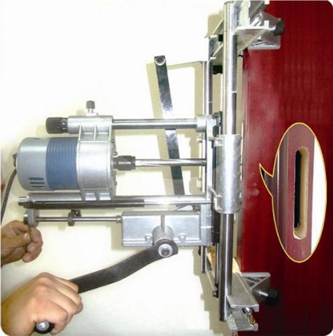 Portable Wood Door Lock Mortise Mortising Machine