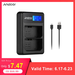 Andoer LCD2-FZ100 LCD Display Dual Channel Camera Battery Charger for Sony NP-FZ100