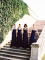 New 2017 A-line Sweetheart Floor Length Navy Blue Chiffon Pleated Long Bridesmaid Dresses Wedding Party Dresses