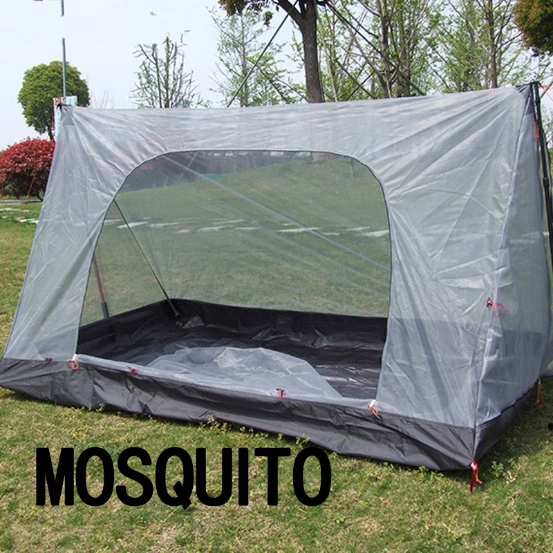 ФОТО Ultralight 1-2Person Mosquito Tent Summer Breathable Gauze Camping Tent Outdoor Anti-mosquito Net