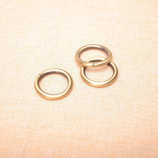 3/4 Inch Antique Bronze Metal O Ring ,3.8mm thickness 20mm inner ...