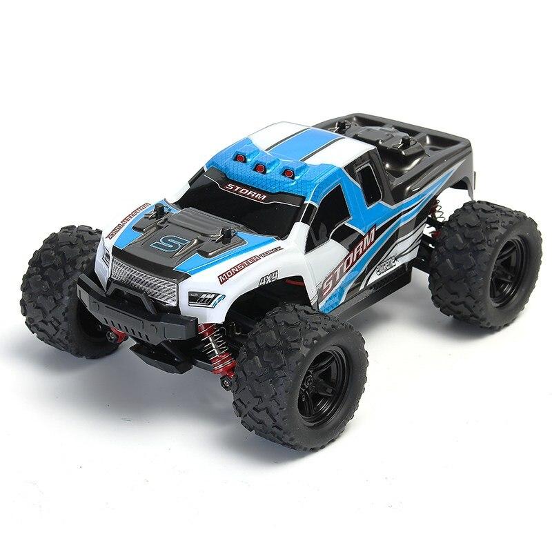Hs 18301/18302 1/18 2.4 г 4WD высокое Скорость big foot RC гоночный автомобиль внедорожник Игрушечные лошадки