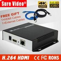 Бесплатная доставка DHL MPEG 4 H.264 4 К HDMI кодер для IPTV, Транслируй трансляции, HDMI видео Запись сервер
