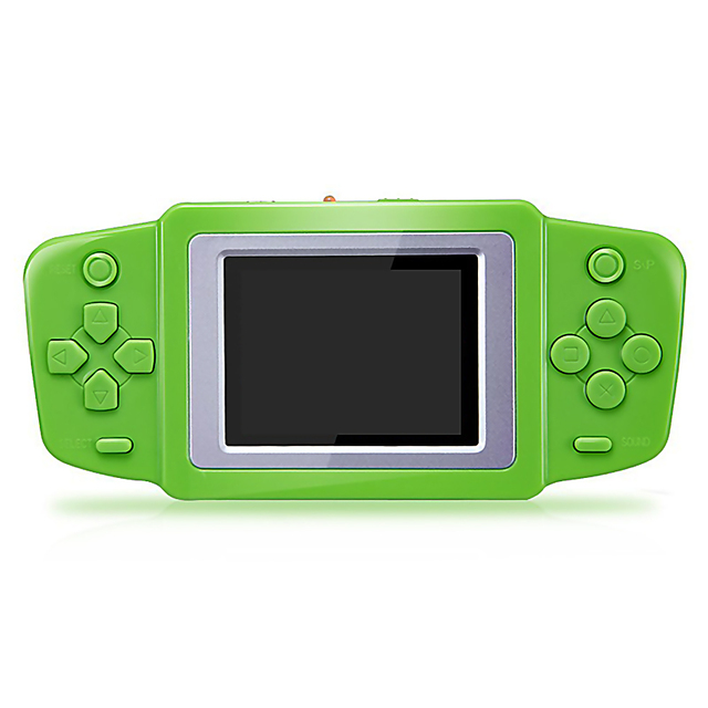 2.5'' Portable Video Game Player 268 8 bit Classic Games Gamepad Console Battery 4