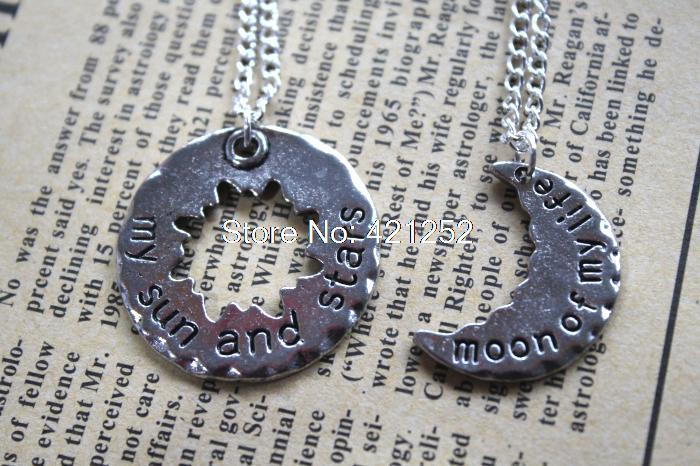 20pcs My Sun and Stars, Moon of My Life - Game of Throne inspired Couples Necklace